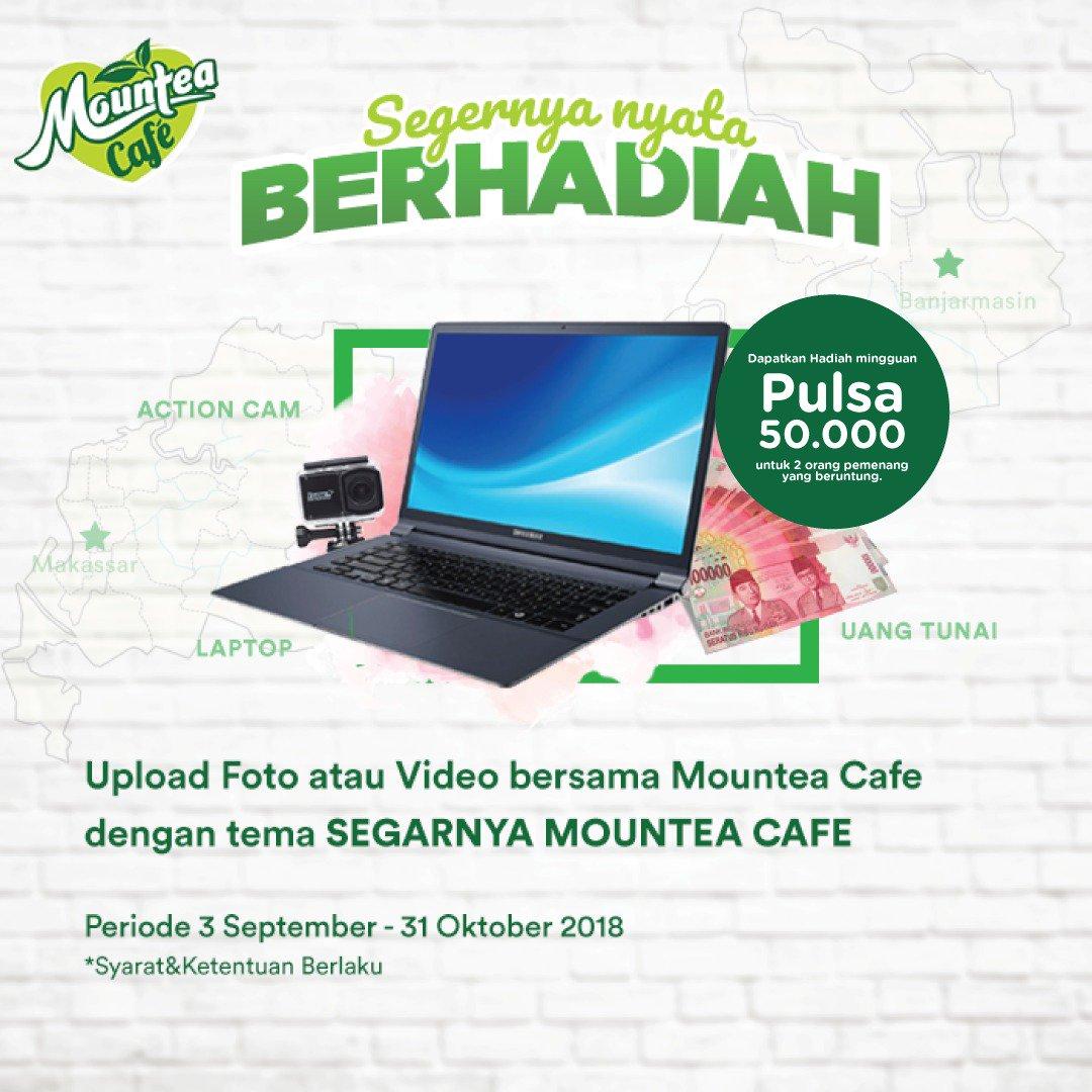 Mountea Cafe - Kontes Foto Dengan Mountea Bisa Dapat Hadiah Menarik