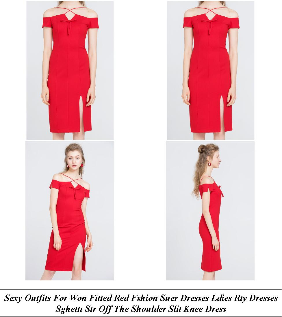 Semi Formal Dresses For Women - Summer Dress Sale Clearance - Denim Dress - Cheap Online Shopping Sites For Clothes