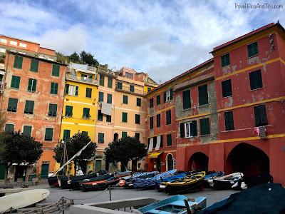 Village de Vernazza, Cinque Terre, Italie