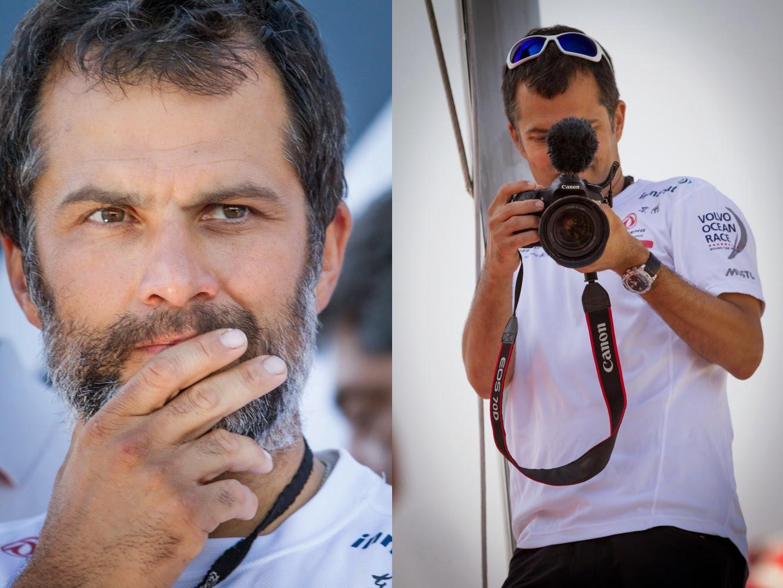 Yann Riou nous parle de la Volvo Ocean Race.