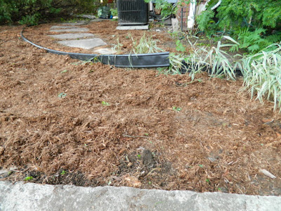 Paul Jung Gardening Services--a Toronto Organic Garden Company Riverdale Frontyard Garden Cleanup After