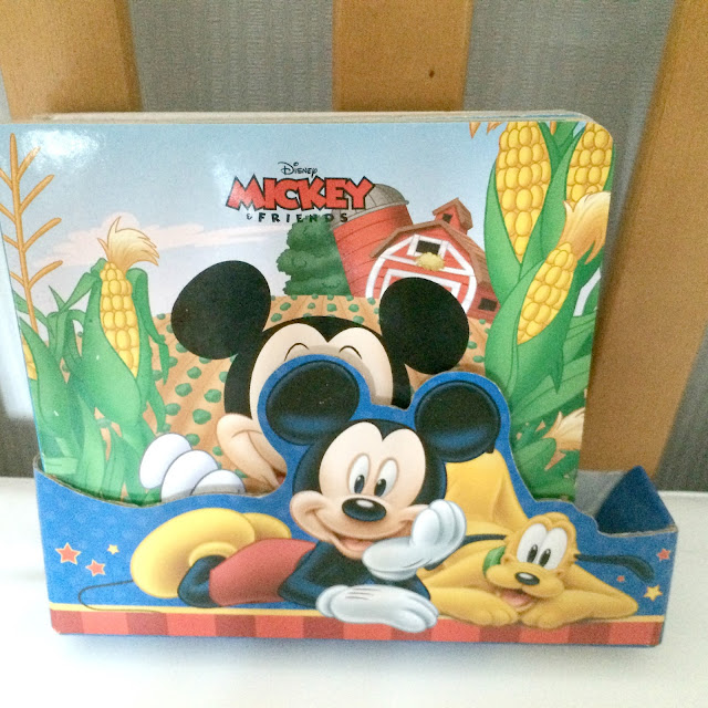 set of child mickey mouse books