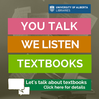 you talk, we listen about textbooks
