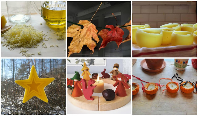 Montessori friendly beeswax projects and inspiration for children and adults