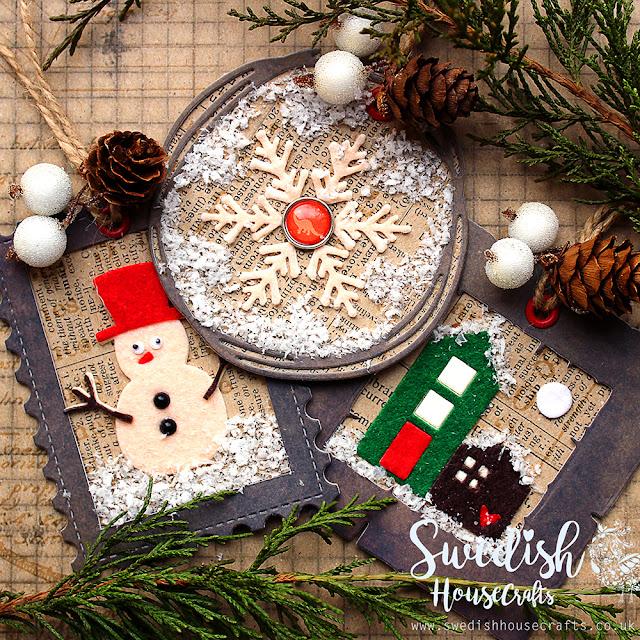 Soft Snow Tag Trio | by Olga