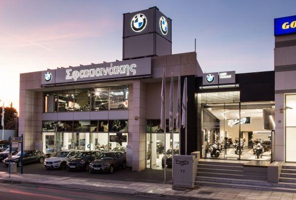 Νέο κατάστημα BMW Motorrad Σφακιανάκης στο Μαρούσι