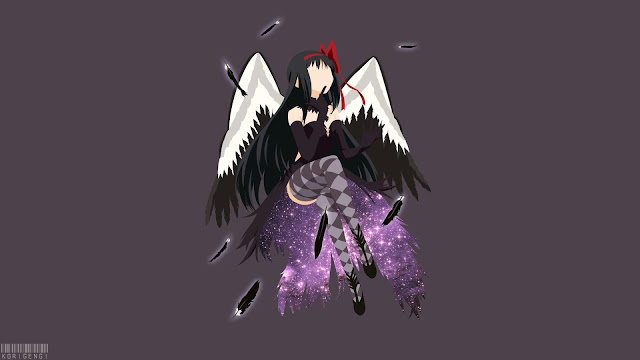 Akuma Homura wallpaper