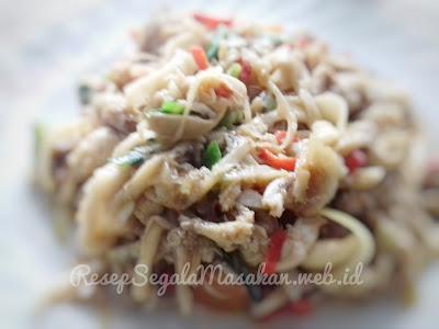 Resep Cah Jamur Tiram Daging Ayam
