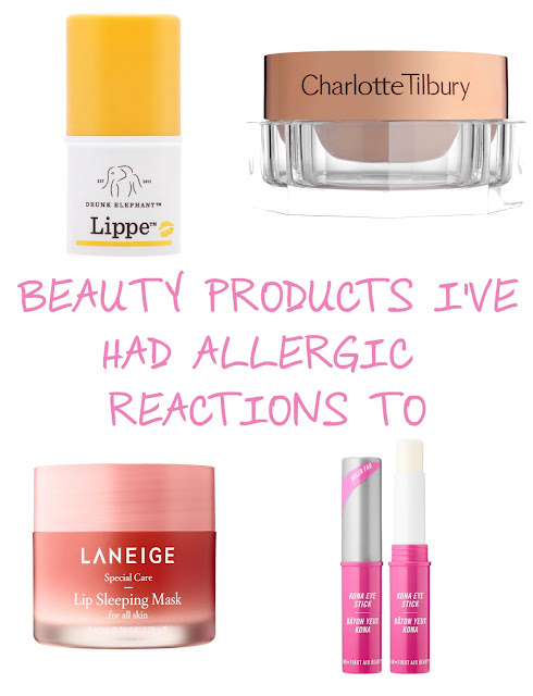 Beauty Products I've Had Allergic Reactions To | Vol 1