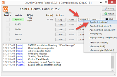 Fix XAMPP Apache service not starting