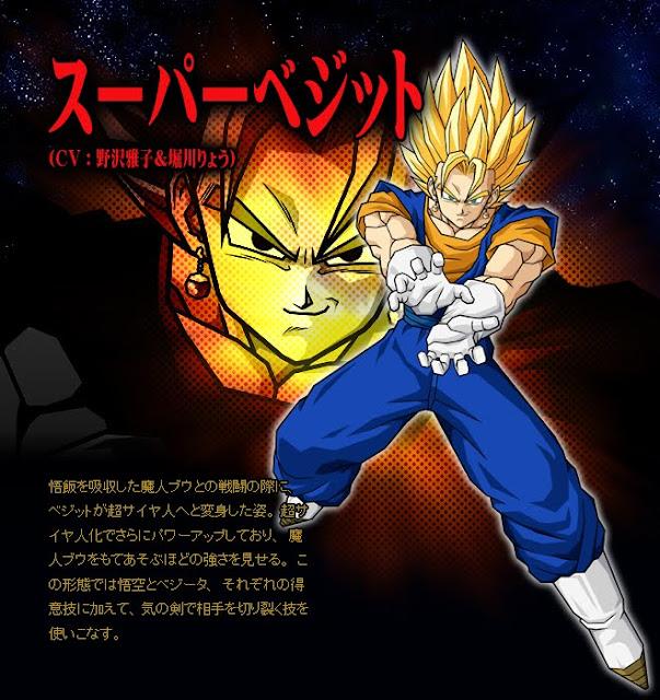 Dragon Ball Enciclopedia Vegetto