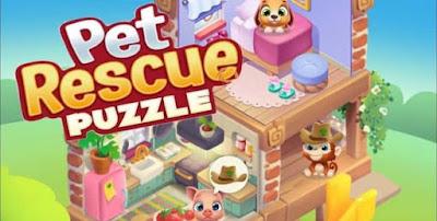 Pet Rescue Puzzle Saga Apk for Android