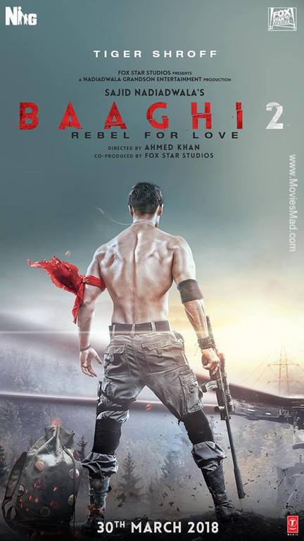 Baaghi 2 Official Poster