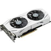 Asus DUAL-GTX1070-O8G GeForce GTX 1070 Graphic Card - 1.58 GHzCore - 1.77 GHz Boost Clock - 8 GB GDDR5 - PCI Express 3.0 - 256 bit Bus Width- SLI - Fan Cooler - OpenGL 4.5, DirectX 12 - 2 x DisplayPort - 2 x HDMI - 1 xTotal Number of DVI (1 x DVI-D) - PC