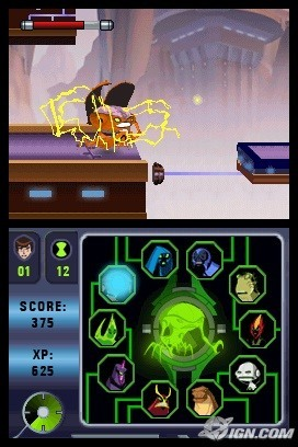 Ben 10 alien force vilgax attacks ds game