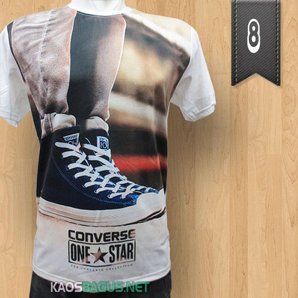 Kaos Converse Putih One Star