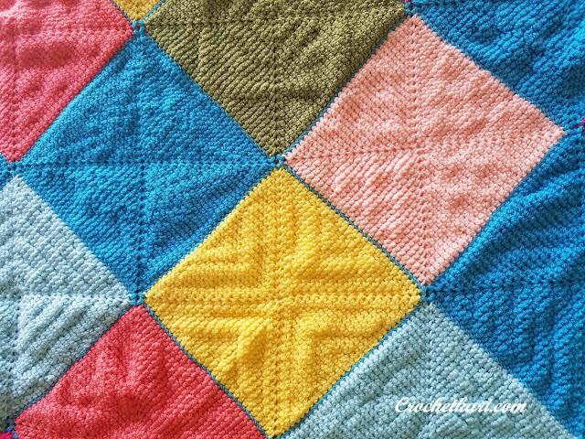 Stardust Melodies Blanket Crochetkari