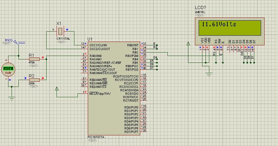 Simple Embedded Solutions: Simple Digital Voltmeter (DVM