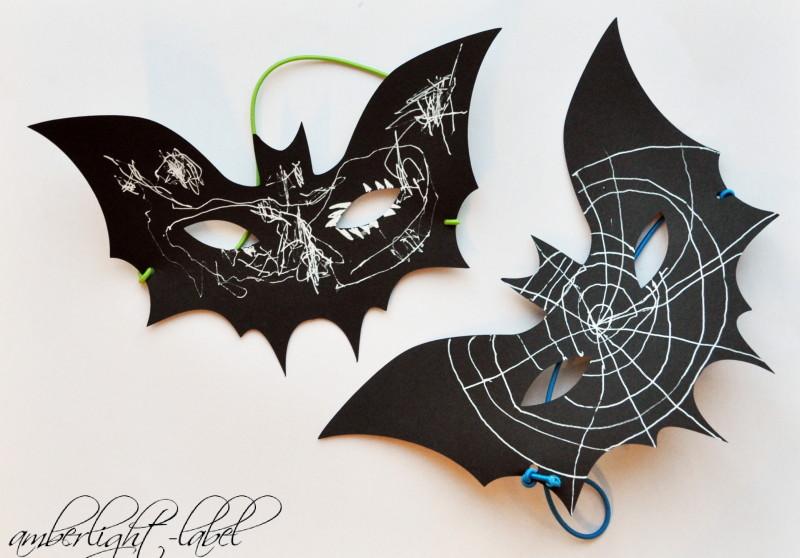 halloween maske fledermaus amberlight label. Black Bedroom Furniture Sets. Home Design Ideas