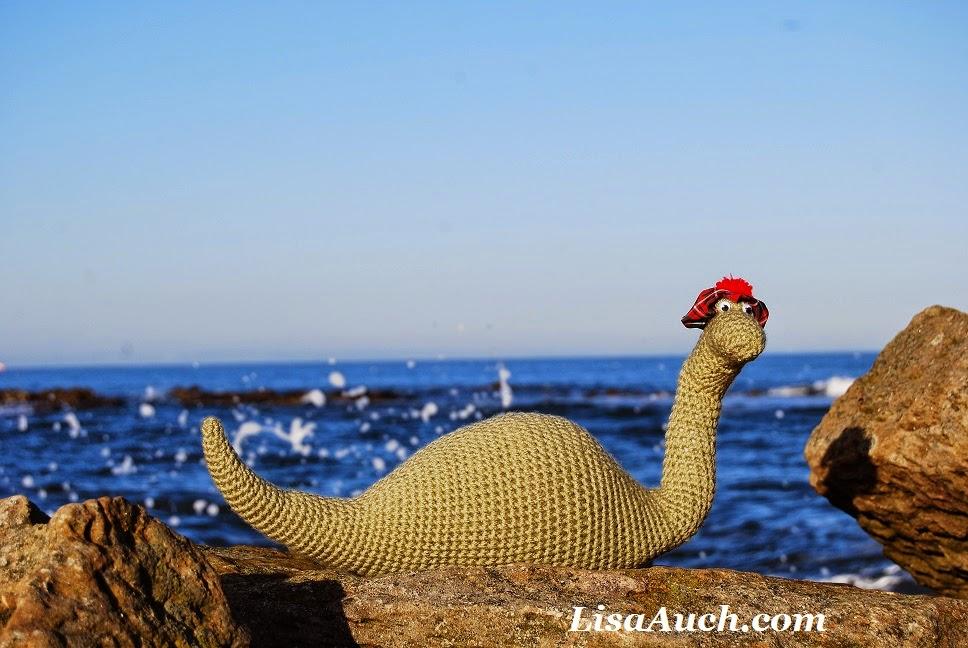 The Loch Ness Monster (Nessie) Amigurumi - Nikki's Nook Designs | 648x968
