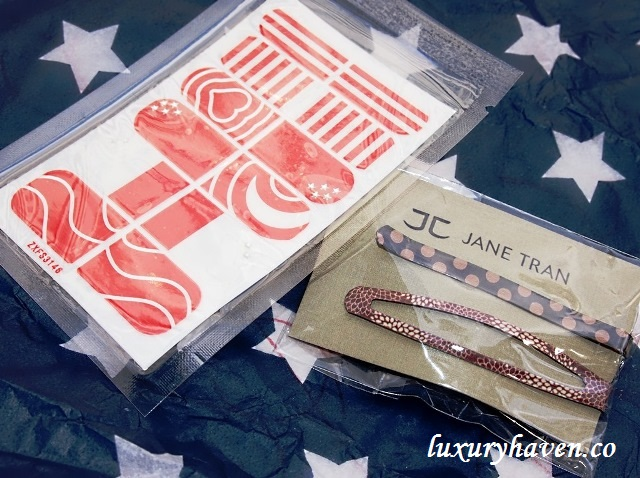 bellabox jane tran bobby pin nail stickers
