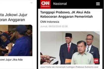 JK Benarkan Prabowo Anggaran Bocor, Surya Paloh Minta Jokowi Jujur, Kapal Sudah Oleng?