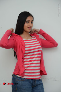 Telugu Actress Mouryani Latest Pos in Blue Denim Jeans  0069.JPG
