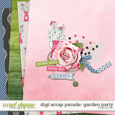EXPIRED: Digi Scrap Parade: Garden Party