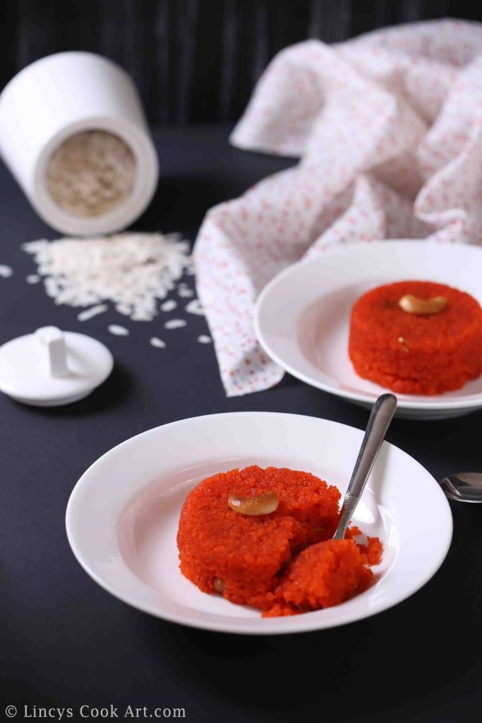 South Indian aval kesari