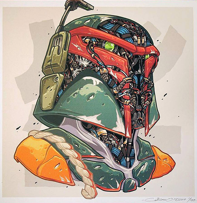 ClogTwo - Asian Star Wars Art on YellowMenace.net