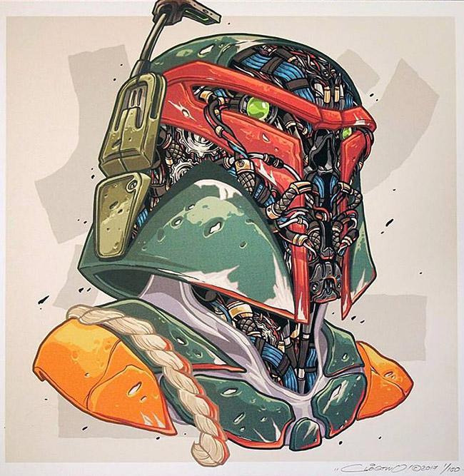 ClogTwo - Asian Star Wars Art on YellowMenace.net