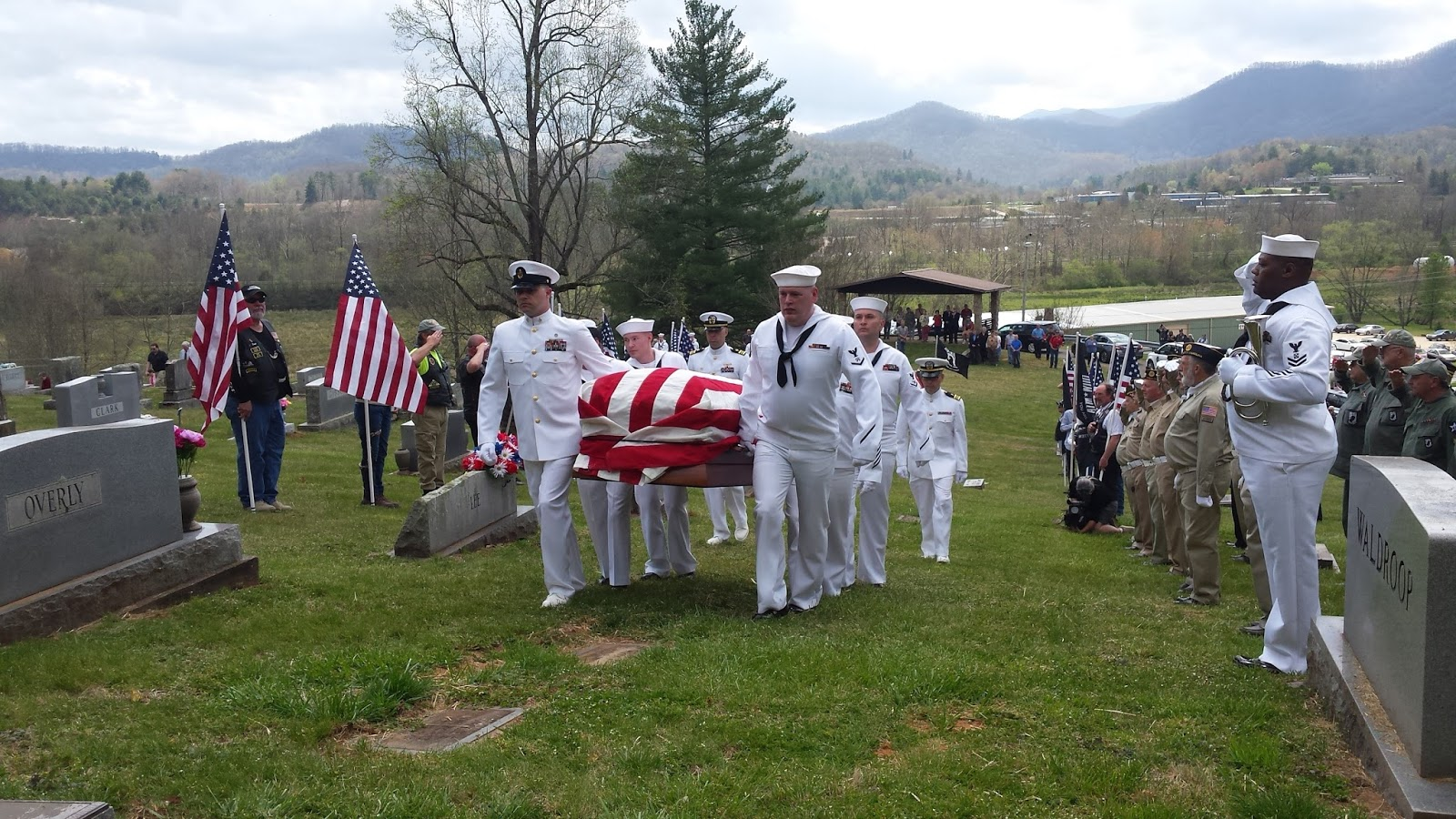Seaman 2nd Class Frank Wood Laid to Rest
