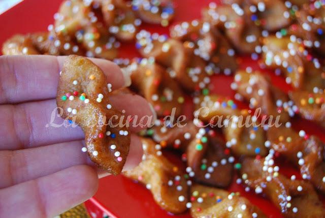 Mini pestiños (La cocina de Camilni)
