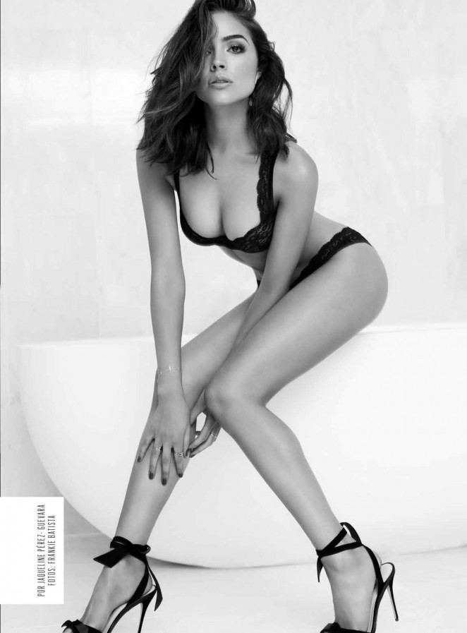 Olivia Culpo seduces for Esquire Mexico October 2015