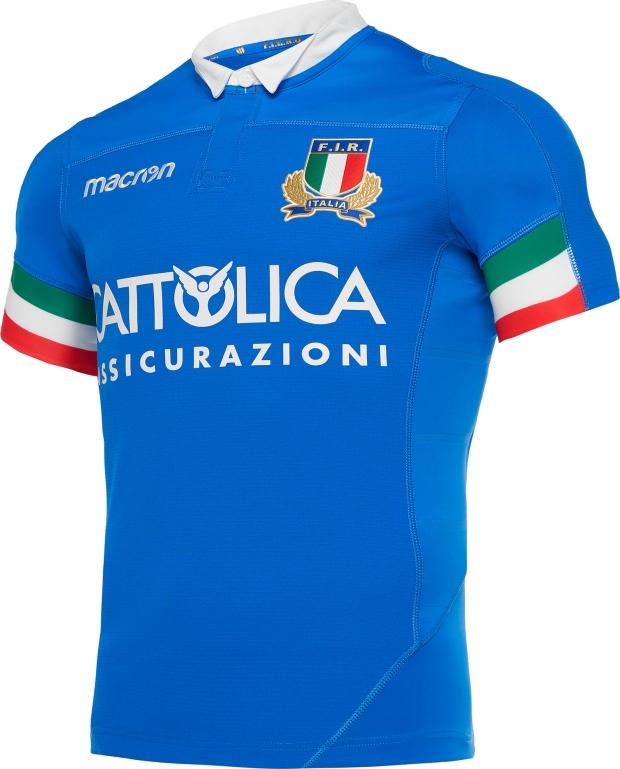 0c41626d93 Macron divulga as novas camisas da seleção de rugby da Itália - Show ...
