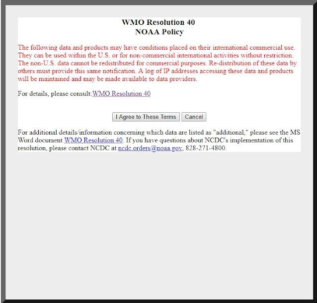 Resolusi WMO untuk penggunaan data iklim dunia