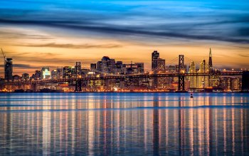 Wallpaper: San Francisco cityscape