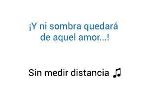 Diomedes Díaz Sin Medir Distancia significado de la canción.