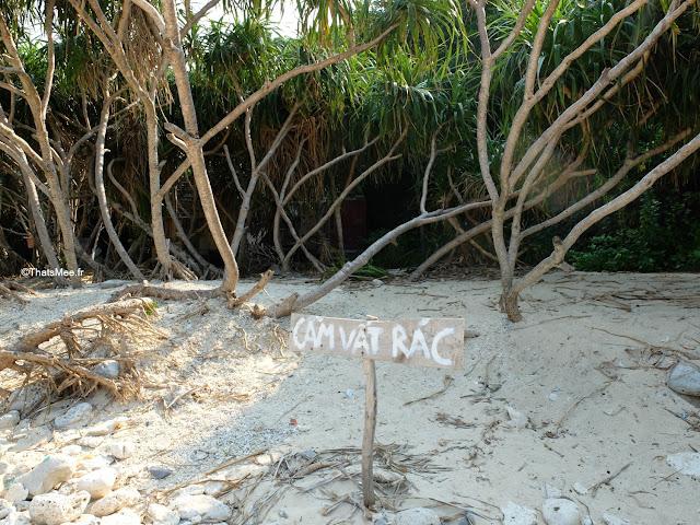 ile aux singes cam vat rac baie halong voyage vietnam tour bateau par cat ba, mer montagne paysage vietnam