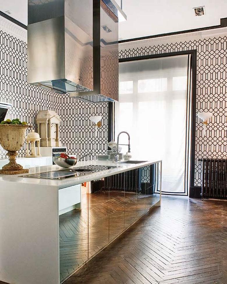 Lustro kuchni...inspiracje wnętrzarskie.