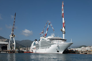 "Fincantieri delivers ""Seabourn Ovation"" in Sestri"