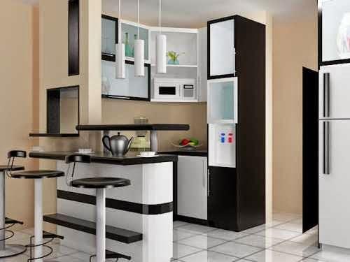 Contoh desain dapur kering yang indah dan nyaman