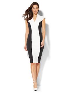 image result color block dress