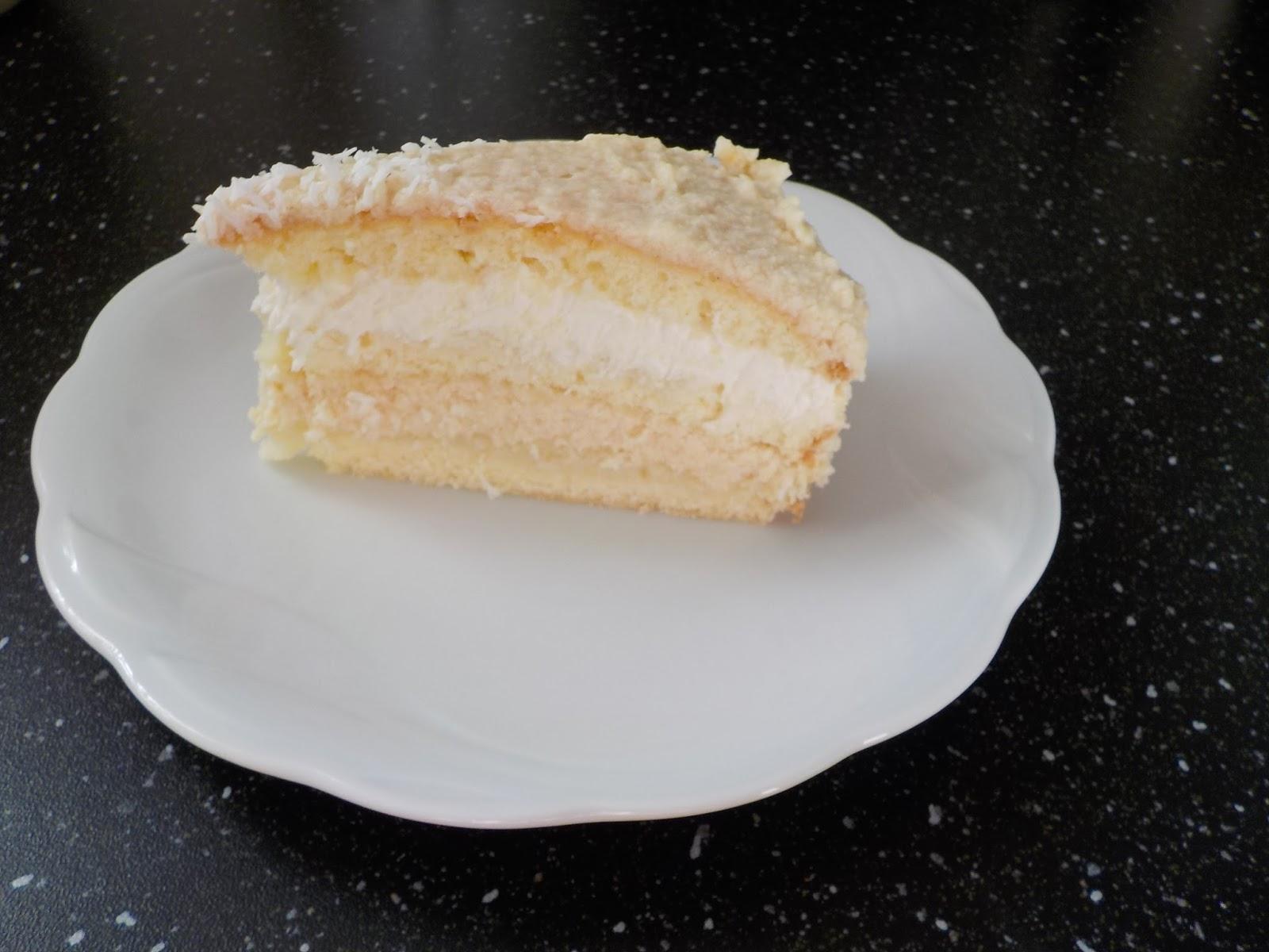 Bezlaktozowy Kokosowo Ciasteczkowy Tort Bez Laktozy