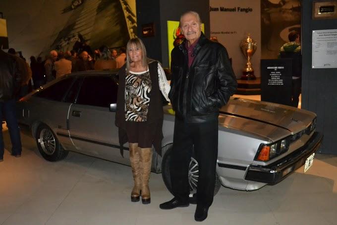 Marplatenses donaron su joya mecánica al Museo Fangio de Balcarce
