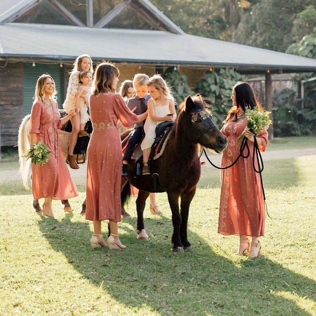 WEDDING HORSE HIRE BYRON BAY