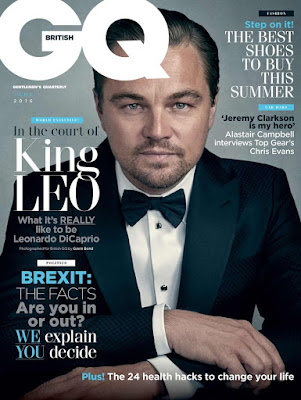 Leonardo DiCaprio covers British GQ magazine. Talks about his friends. Details at JasonSantoro.com