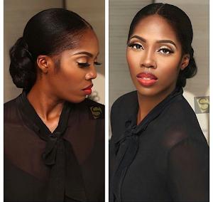 Slay Mama Tiwa Savage, stuns in new makeup photos