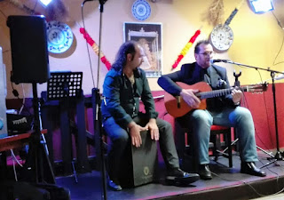 Fotografía de la actuación benéfica por Lucía del día 3 de noviembre de 2017