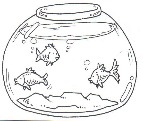 Desenhos De Aquario Para Colorir Desenhos Para Colorir